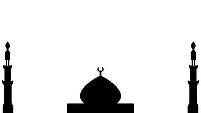 Kubah Masjid Vector Clipart Best