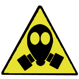 Gas Mask Sign - ClipArt Best
