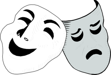 Drama Mask Templates Clipart - Free to use Clip Art Resource