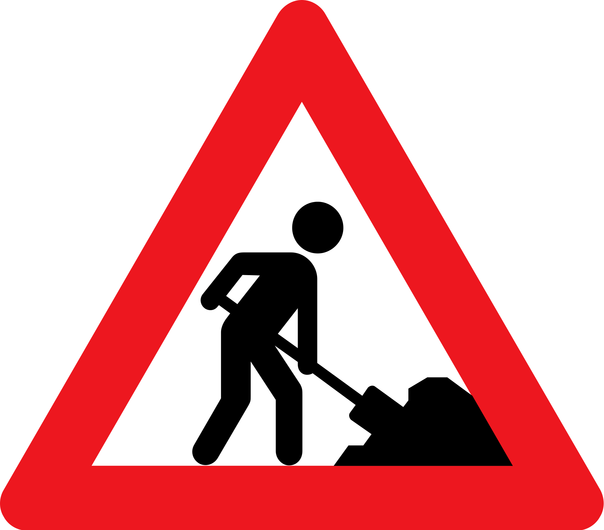 Men At Work Road Signs - ClipArt Best