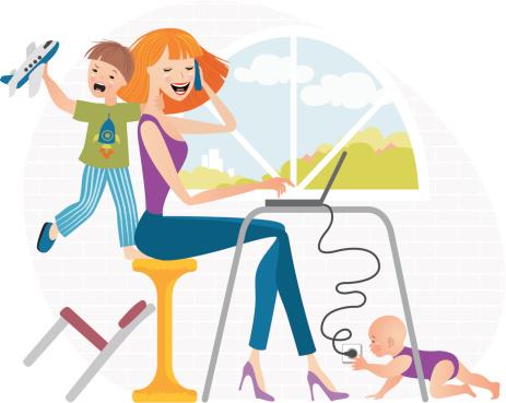 Working Mum Clipart - ClipArt Best