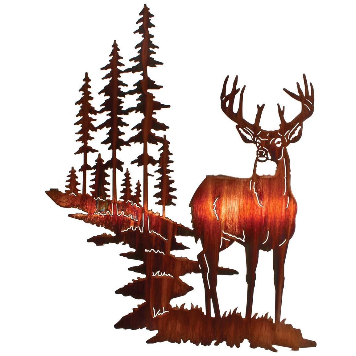 Deer Art Pictures - ClipArt Best