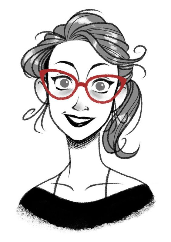 Cartoon Girl Faces Drawing - ClipArt Best
