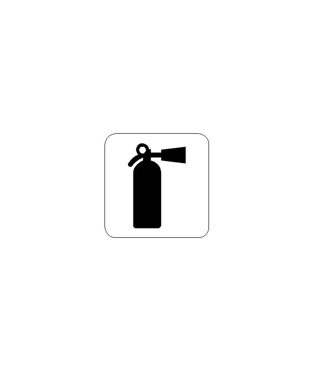 fire extinguisher line drawing clipart best