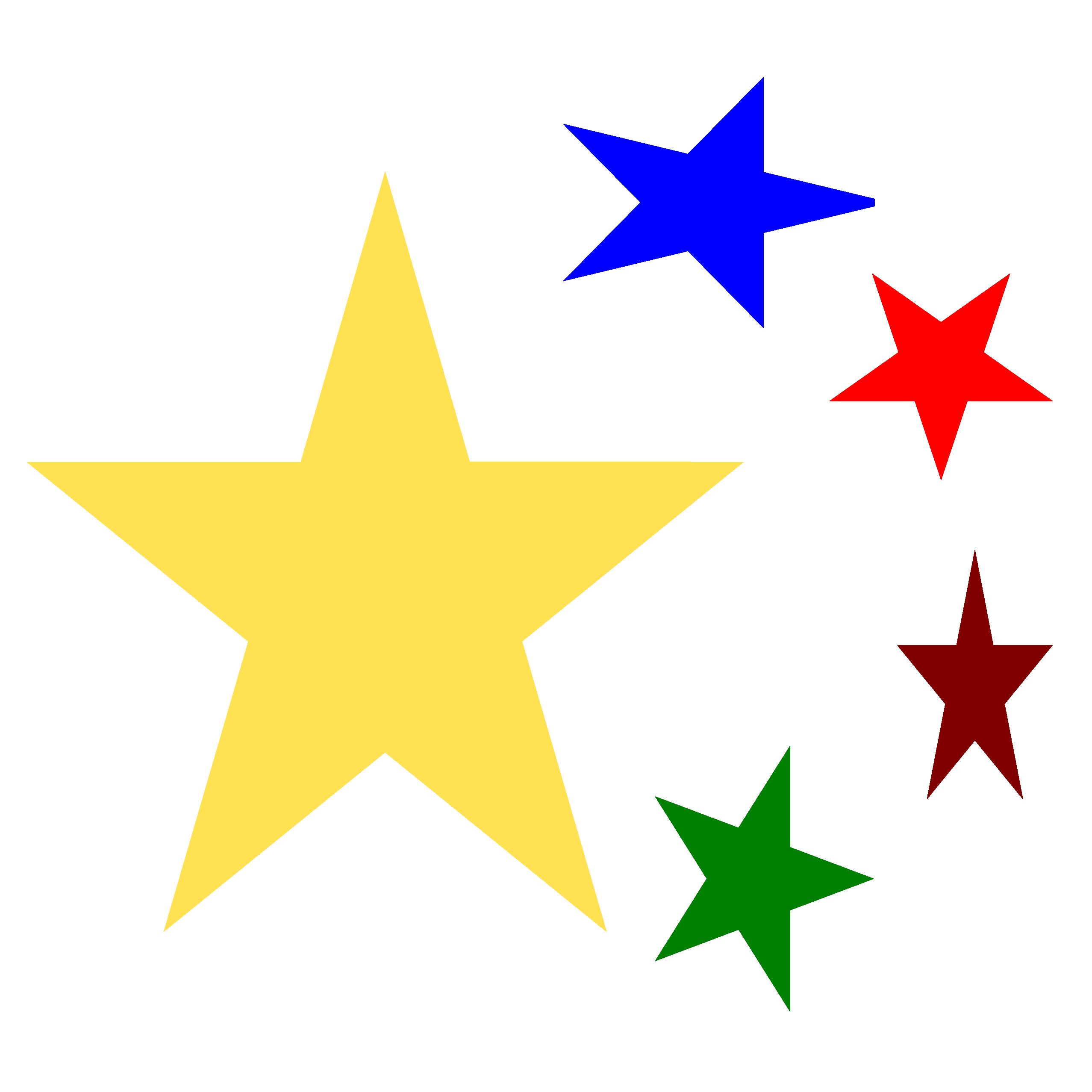 Yellow Stars Clip Art - ClipArt Best