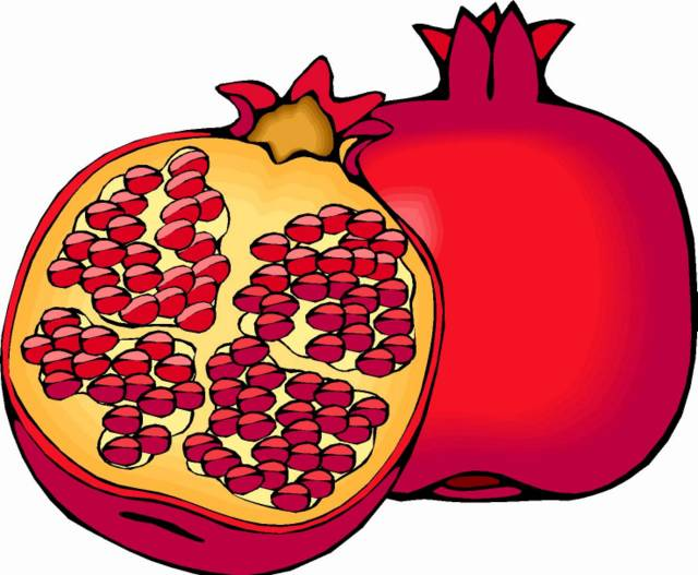 Pomegranate Clipart - ClipArt Best