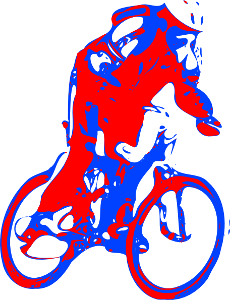 free clip art bike rider - photo #17