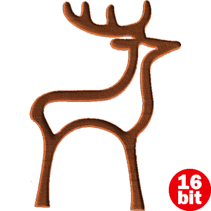 Reindeer Outline - ClipArt Best