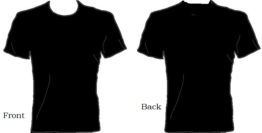 Blank Shirt Template - ClipArt Best