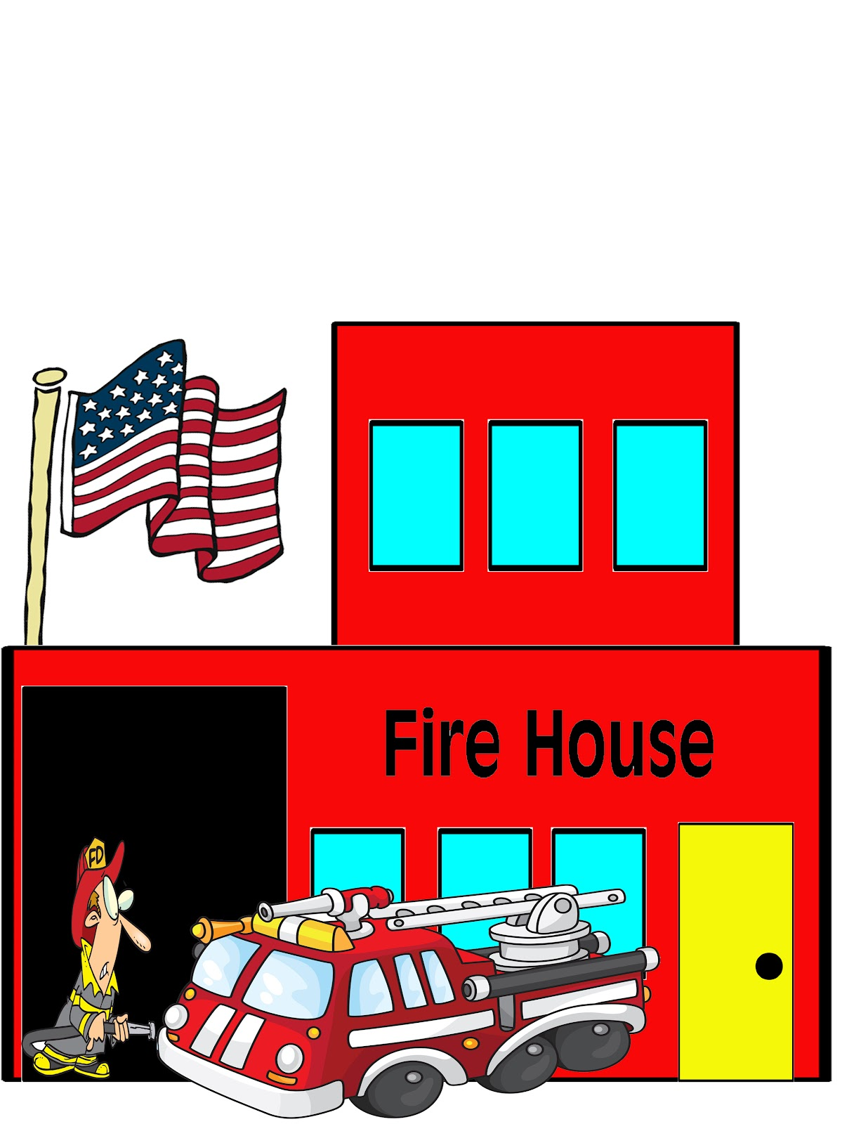 Firehouse Clipart - ClipArt Best
