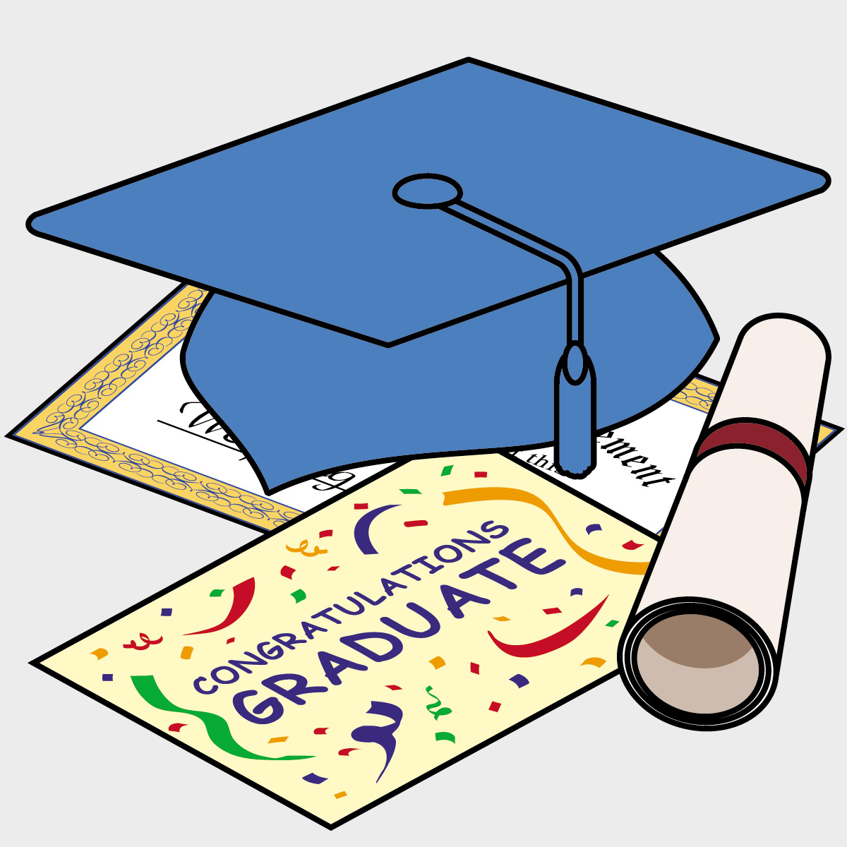 High School Graduation Clip Art - ClipArt Best