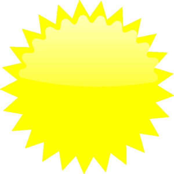 Yellow Star Burst clip art - vector clip art online, royalty free ...