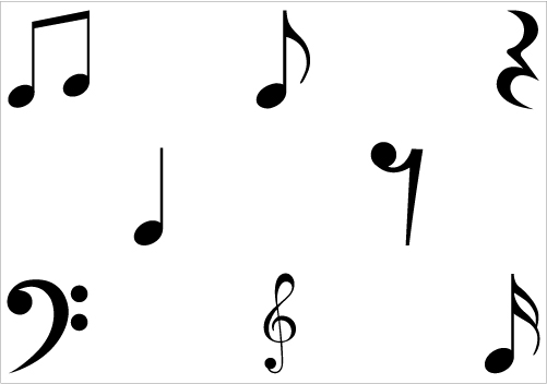 free clipart music note symbol - photo #19