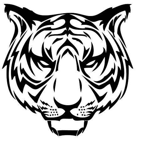 Tribal Dragon Tiger - ClipArt Best