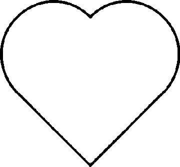 Printable Heart Pattern or Coloring Page
