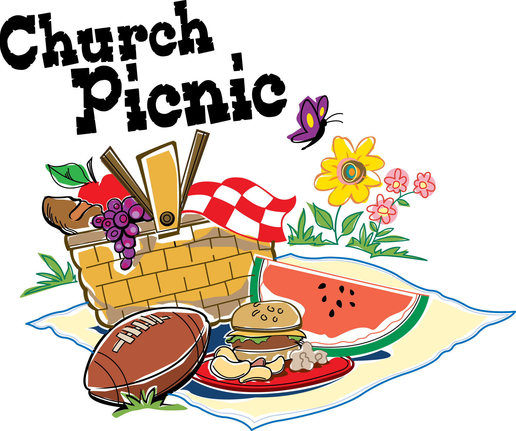 spring picnic clipart - photo #9
