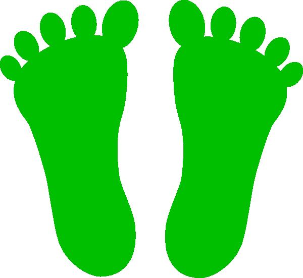 Footprint Clip Art Colored - ClipArt Best