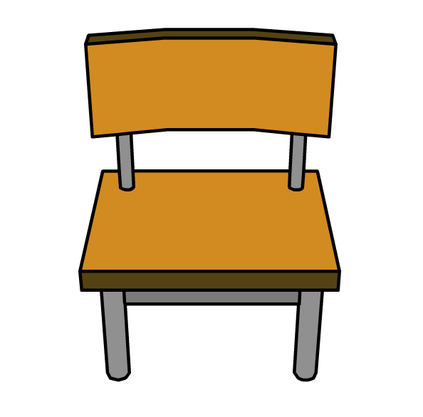 school chair clipart clipart best. Black Bedroom Furniture Sets. Home Design Ideas