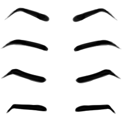 Cartoon Eyebrows Clipart - ClipArt Best
