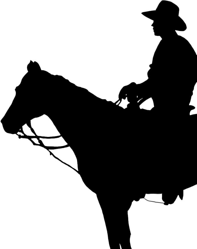 Cowboy Silhouette - ClipArt Best - ClipArt Best
