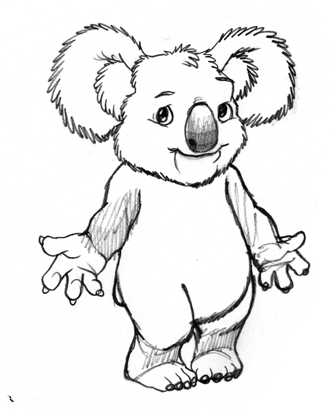 Free Koala Animales Coloring Pages