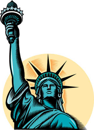 Statue Of Liberty Vector - ClipArt Best