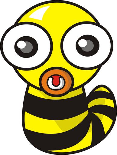 Larva Lebah :)  The Crowd Voice - ClipArt Best - ClipArt Best