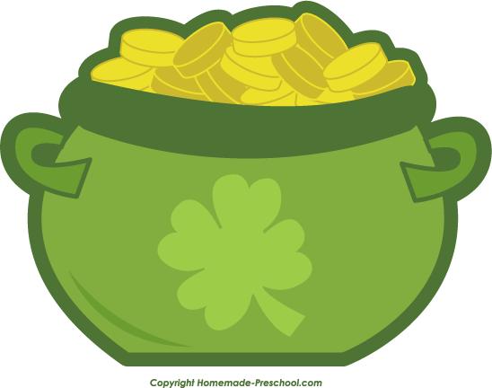 Irish Pot Of Gold - ClipArt Best