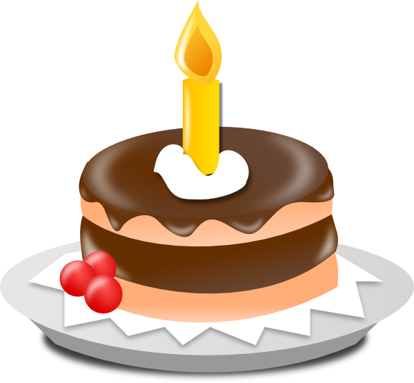 Cartoon Birthday Candles - ClipArt Best