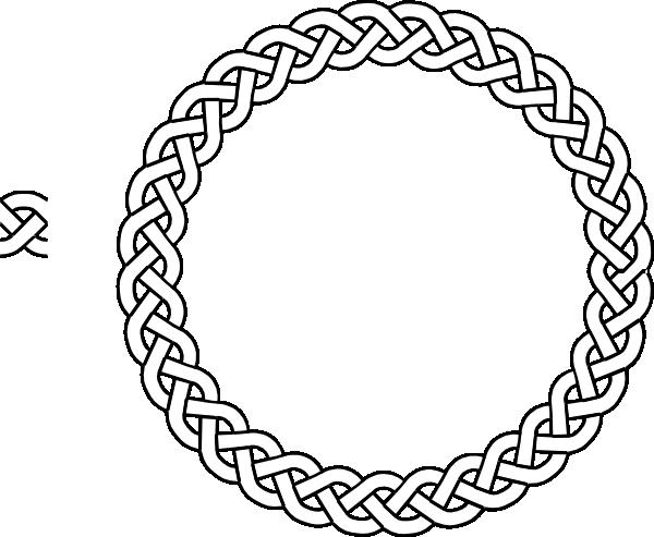 plait Border Circle clip art - vector clip art online, royalty ...