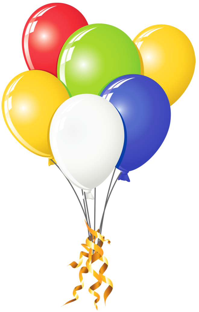 Balloon Png on Unicorn Color By Number