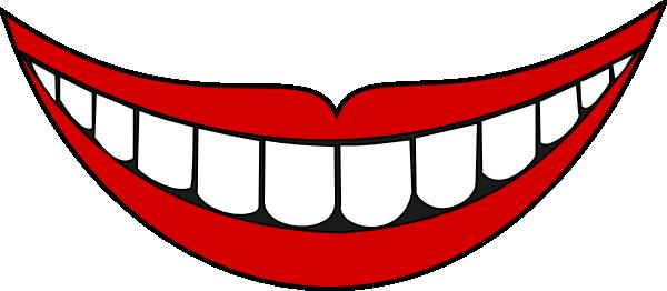 Smiling Cartoon Lips Clipart Best