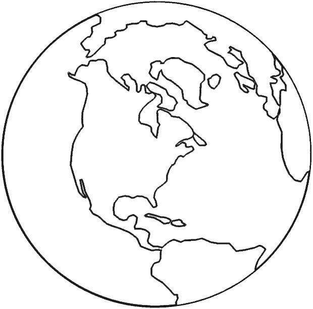 Earth Template - ClipArt Best