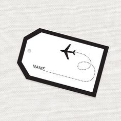 Luggage Tag Template Free