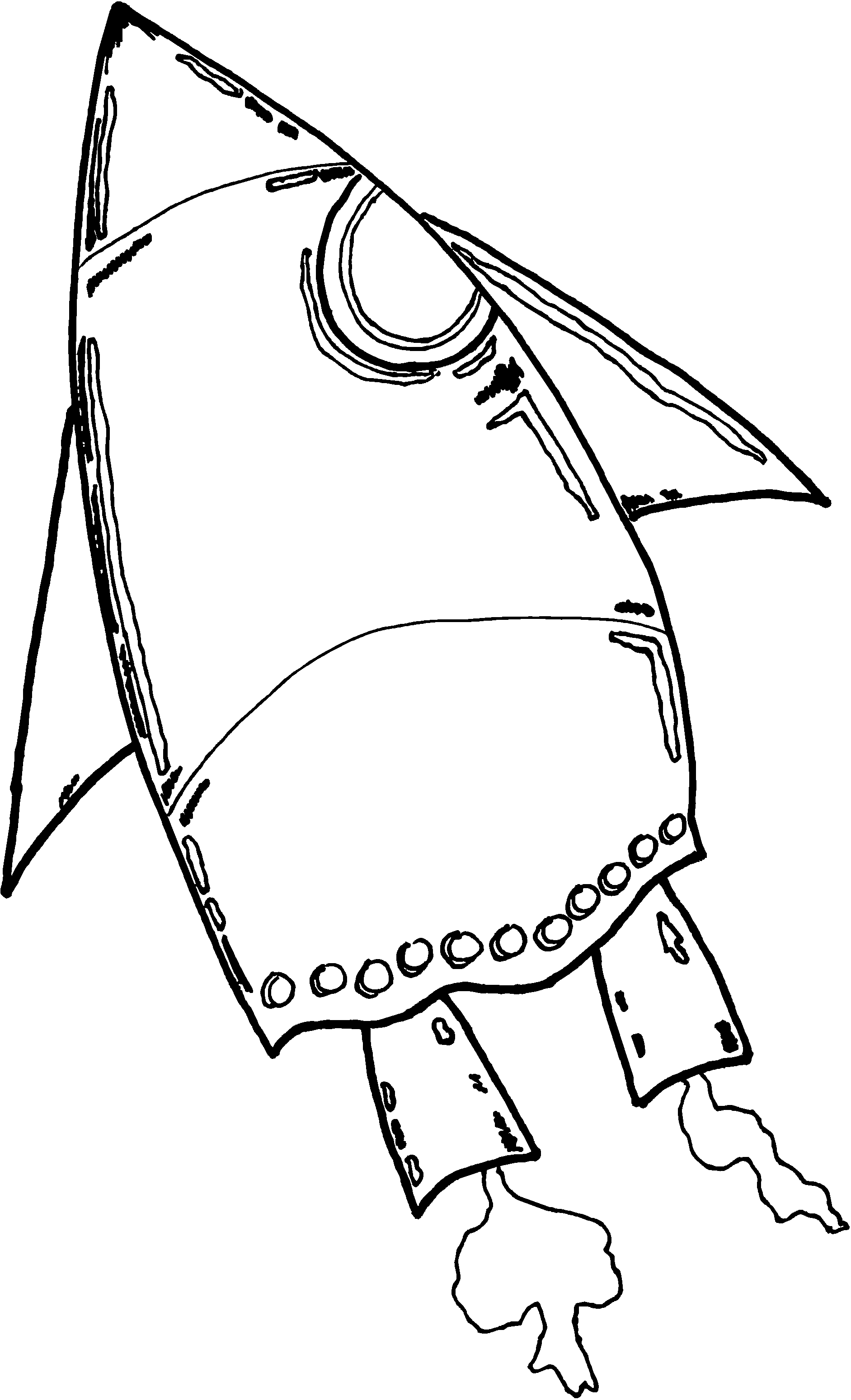 Line Art For Kids : Spaceship for kids clipart best