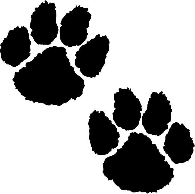 Leopard Paw Prints - ClipArt Best