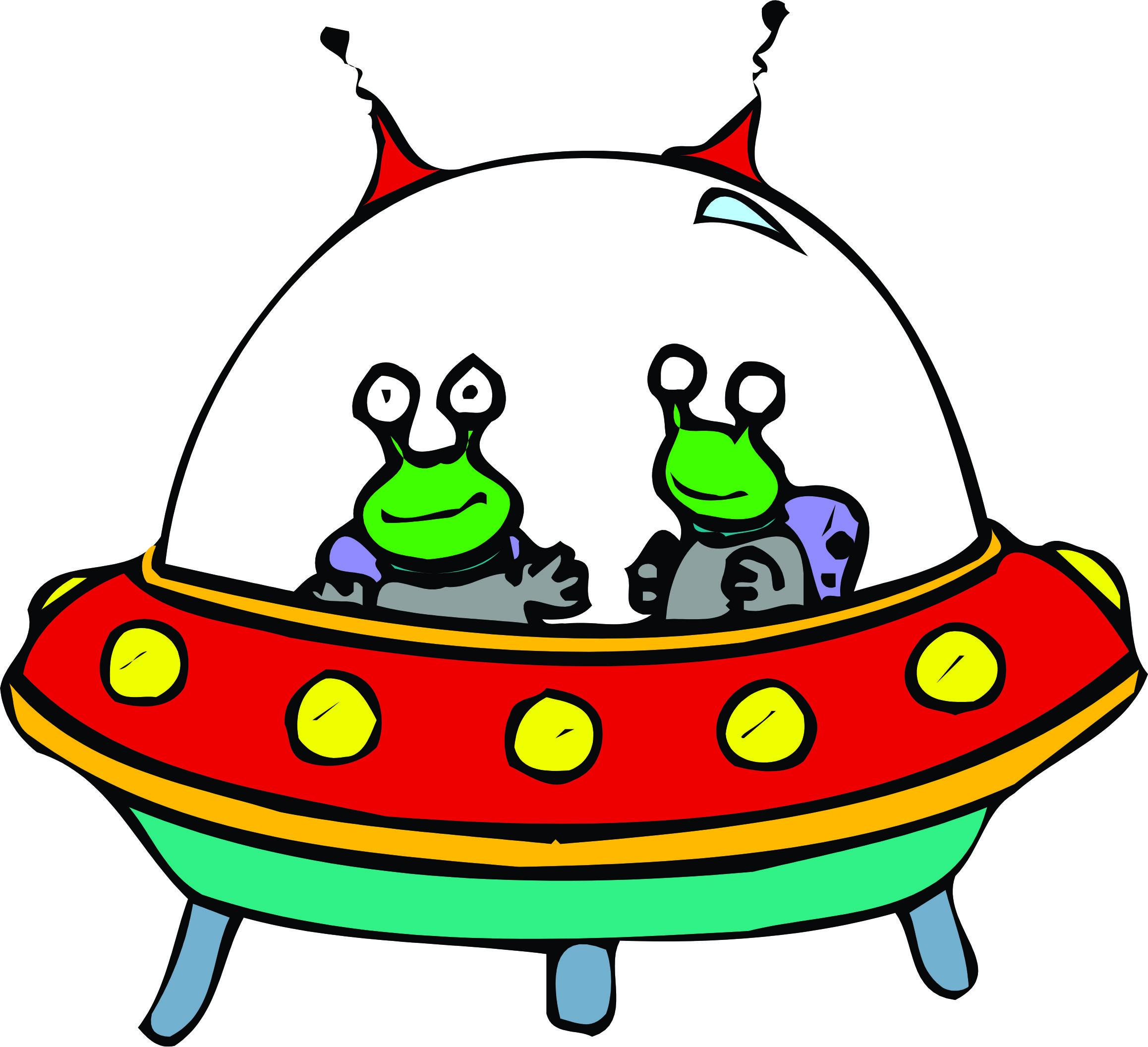 Space shuttle cartoon clipart