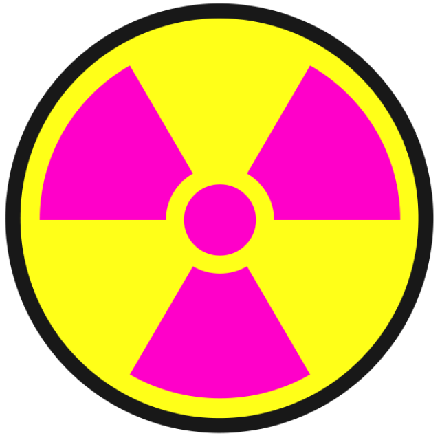 Radiation Warning Symbols
