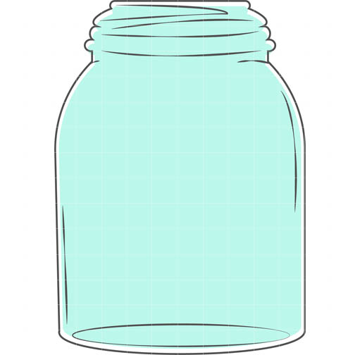 27 mason jar outline template . Free cliparts that you can download to ...