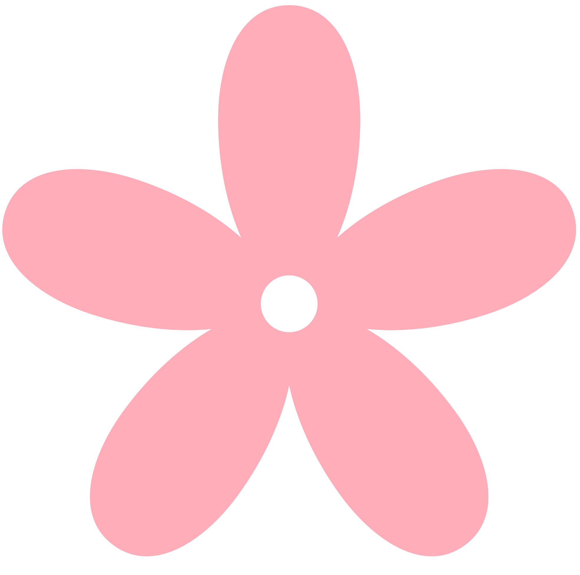 Pink Cartoon Flower - ClipArt Best