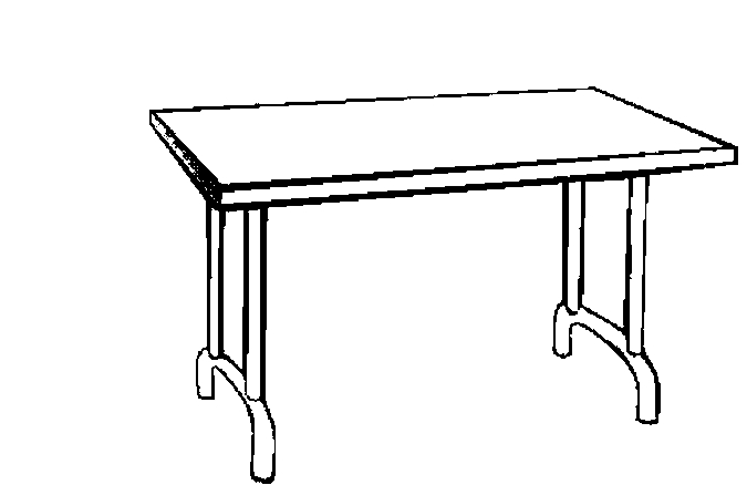 Table Coloring Clipart Best