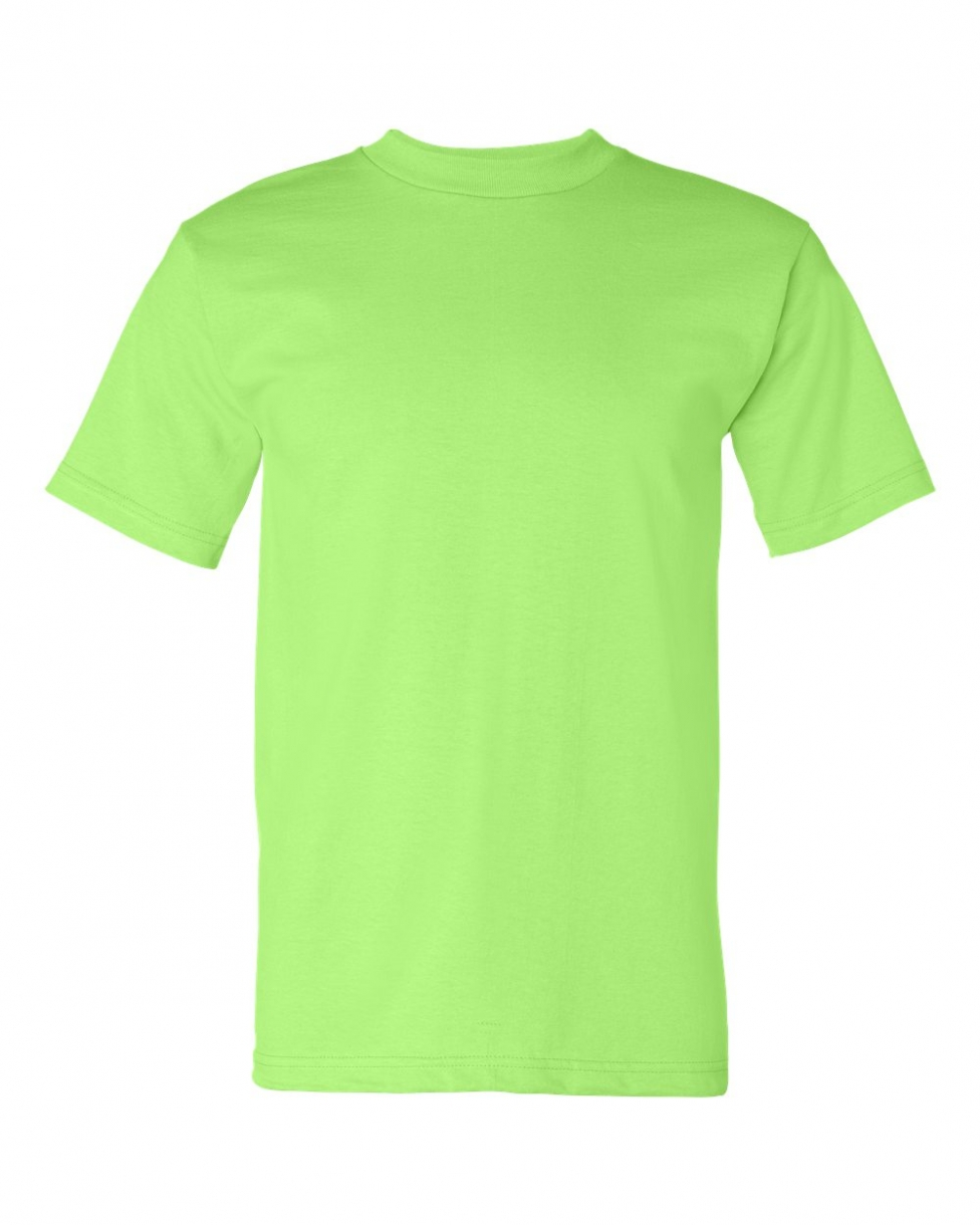 Neon green shirt design the image kid for Neon blue t shirt