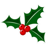 Clipart Christmas Holly | Clipart Panda - Free Clipart Images ...