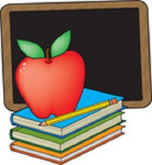 Teacher And School Supplies Clipart - ClipArt Best