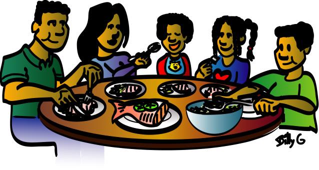 Family Dinner Clip Art - ClipArt Best - ClipArt Best