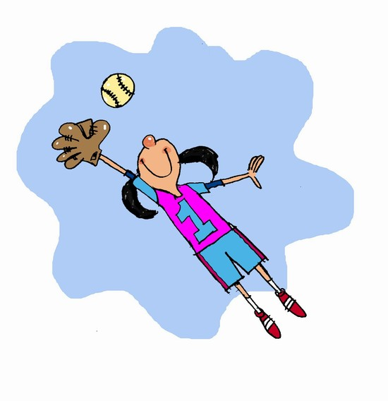 Softball Cartoon Pictures - ClipArt Best