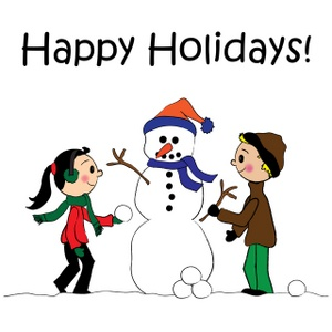Clip Art Holiday Clip Art Free Downloads happy holidays clip art free clipart best snowman image stick kids building a with happy
