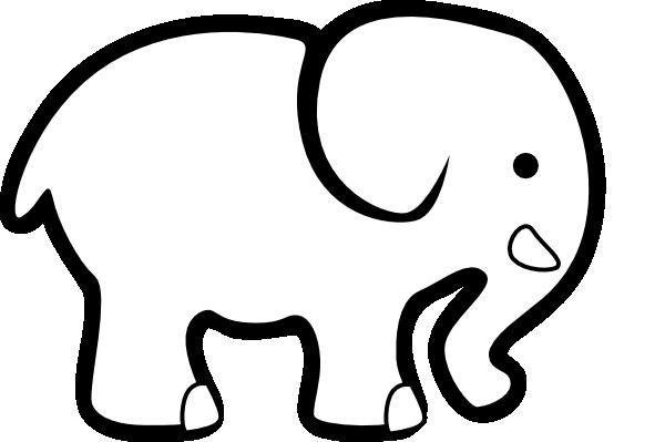 elephant head clipart - photo #45