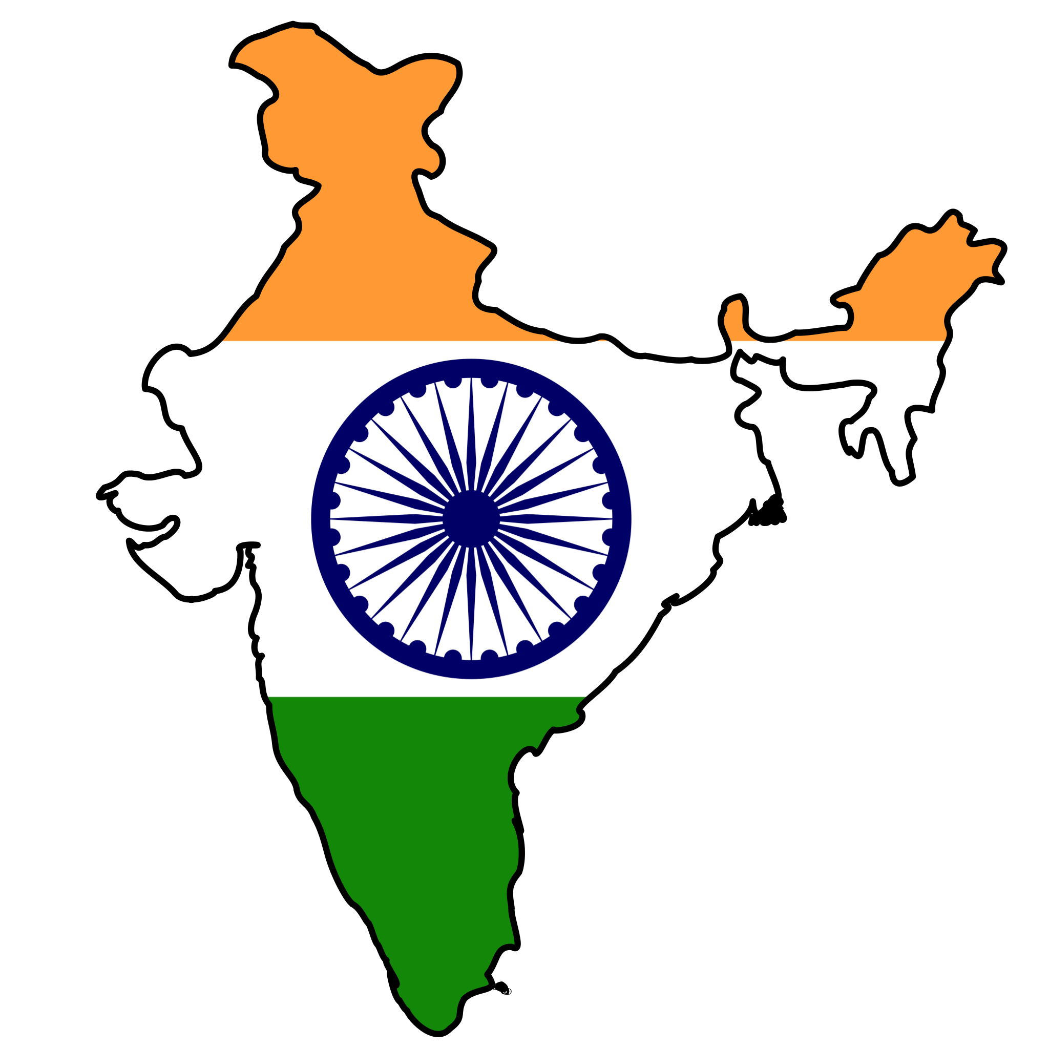 Indian Flag Clipart - ClipArt Best