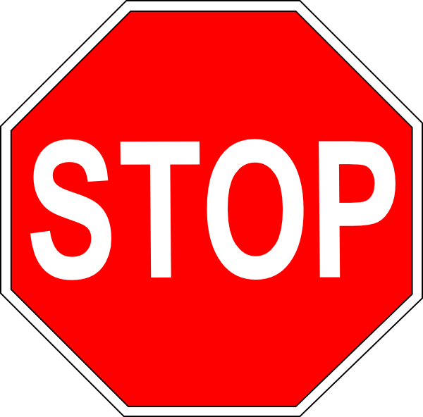 Printable picture of stop sign clipart best for Stop sign printable